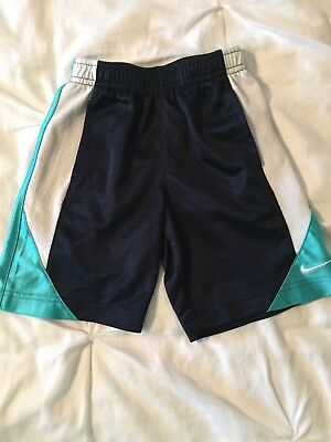 Nike Toddler  4T Little Boys Blue  Athletic Shorts