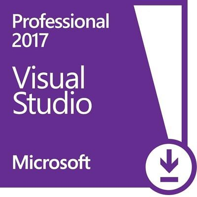 Visual Studio 2017 Professional⭐Lifetime License ⭐