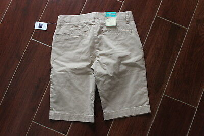 New Gap Kids Girls Skinny Bermuda Shorts School Uniform Size 12 Reg Stretch NWT