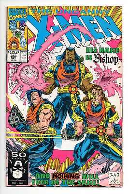 Uncanny X-men #282 (Marvel Comics, 1991) 1st Appearance of Bishop  -  Must See!