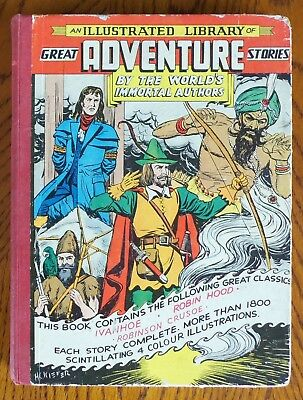 Classics Illustrated Giant - Great Adventure Stories - Rare