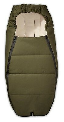 Joolz Geo Sleeping Bag / Footmuff. Earth Collection Turtle Green