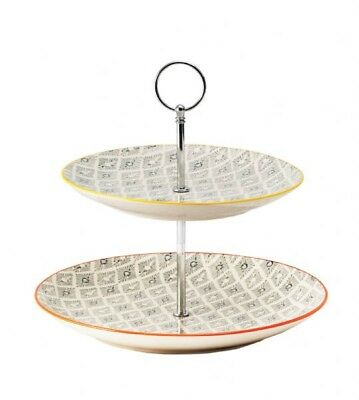 NEW 2-Tier General Eclectic Cake Stand - Deco