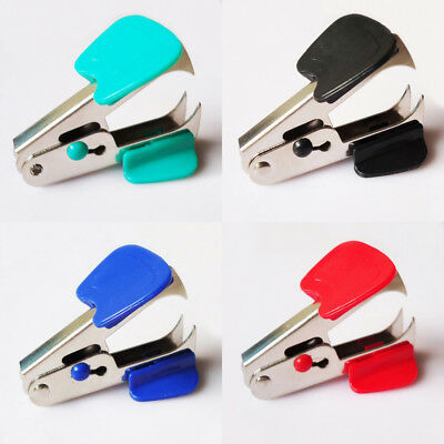Cute Mini Portable Standard Metal Staple Remover School Office Binding Supplies