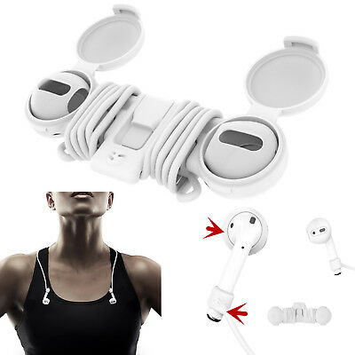 SwitchEasy Earphone Strap Organizer Cover Anti Lost for iPhone 7/8 Plus AirPods