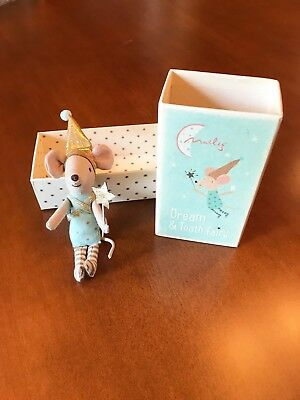 Maileg Tooth Fairy Mouse In Box - US Seller