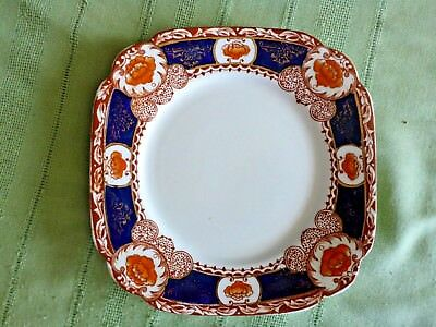 Standard China (Chapmans Longton) Imari Style Plate For Display A/f 1916 - 1930