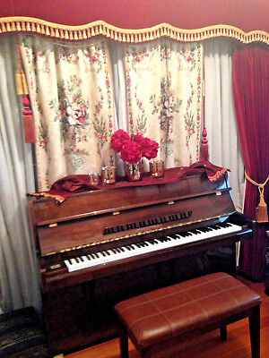 Piano*ALEX.STEINBACH*Imperial GERMAN SCALE/Serviced Wth Receipts/Excellent Cond.
