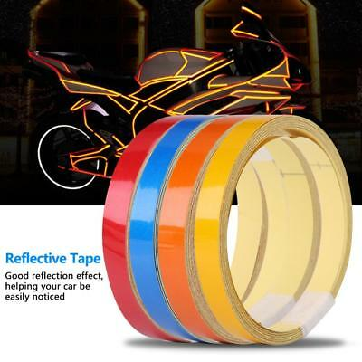 5m Car Safety Warning Reflective Tape Stickers Roll Film Reflector Sticker Decal