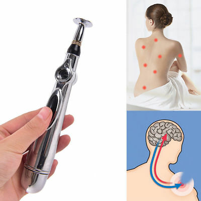 Meridian Electronic Acupuncture Energy Pen Laser Pulse Therapy Pain Relief New