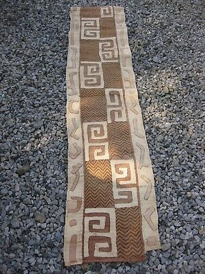 Rare Old Long Shoowa Textile Kuba DR Congo