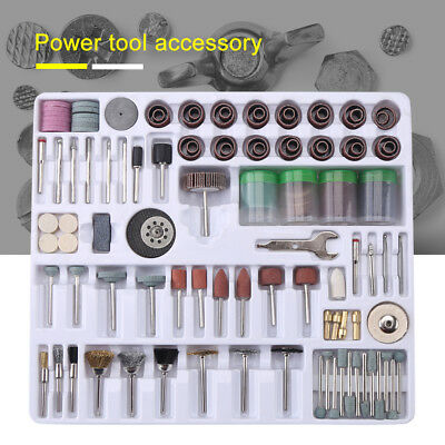 For Dremel Rotary Tool Accessories Kit Grinding Polishing Shank Craft Bits US