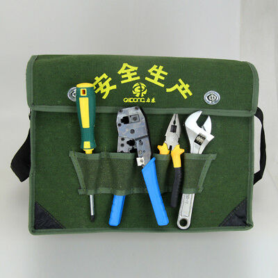 Toolkit Electrician Package Practical Durable Portable Wrench Shoulder Bag