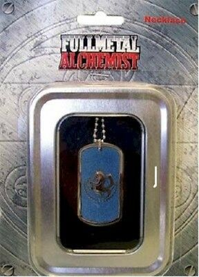 *NEW* Fullmetal Alchemist: State Army's Alchemy Necklace