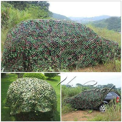 2x3m Camouflage Net Camo Hunting Shooting Hide Army Camping Woodland Netting UK