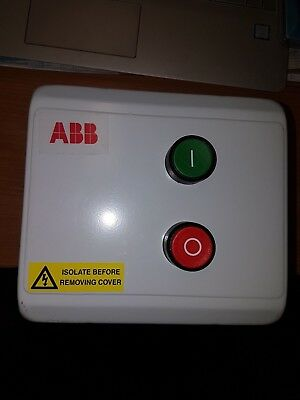 ABB DOL Starter Enclosed 7.5kw Steel enclosure 230v IP55