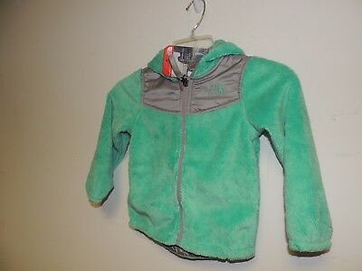 4T Bermuda Green The North Face Toddlers Oso Hoodie Jacket Fleece 2T 3T