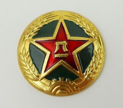 Surplus Chinese Pla Army Type 85 Hat Cap Badge