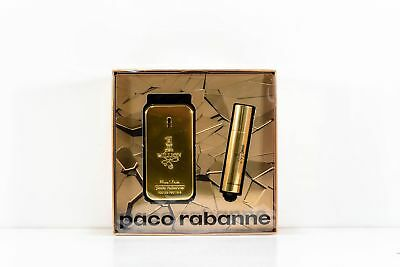 Paco Rabanne One 1 Million Herrenduft Eau de Toilette 50 ml  EdT Spray 10 ml Set