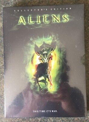 ** ALIENS: 2nd Chapter - This Time It's War, DVD, brand new, factory sealed!