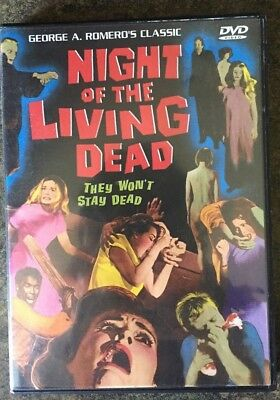 ** Night of the Living Dead, DVD, used, good condition! George A. Romero