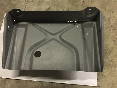 FC Holden battery tray, fe , fe sand plasted, etched primed