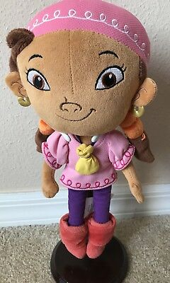 "Disney Store IZZY Plush Doll 11"" Jake and the Neverland Pirates Girl"