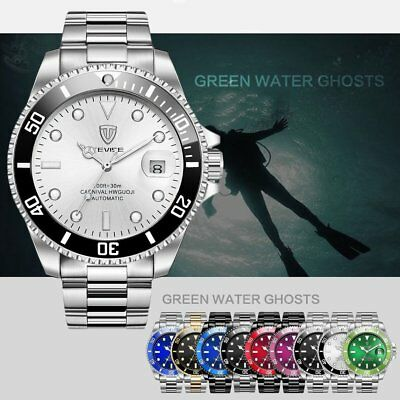 TEVISE T801 Men Automatic Mechanical Watch Fashion Waterproof Luminous Watch k9