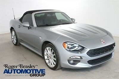 Fiat 124 Spider Lusso 2017 Fiat 124 Spider Lusso Turbo 1.4L I4 16V Automatic Rear-wheel Dr Convertible