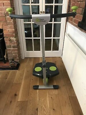 Twist and shape exercise machine, in very good condition Only Used A Few Times