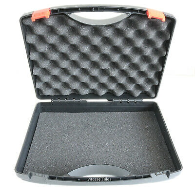 Plastic Case Storage Box Foam Lined Carry Case Tool Box Collectables Large Case