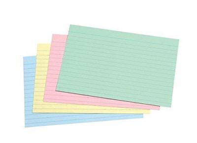 Concord A6 Record Card - 100 Pack - Catalogue Cards for Records and Accounts