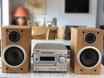 sony mini hi fi system Dhc Md373