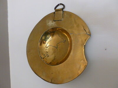 Late 18th early 19th Century Brass Physicians /Barbers Bleeding / Shaving Bowl