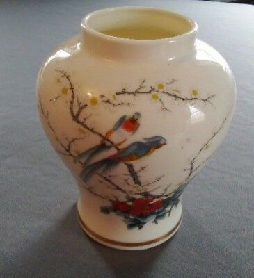 "6"" Fine China Vase, Made In Japan, Asian Design"
