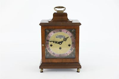 Vintage / antique WORKING WARMINK key wind mahogany clock
