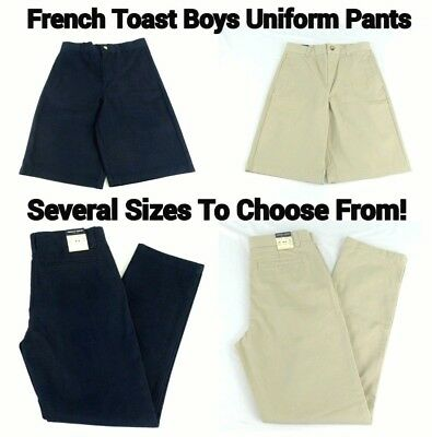 French Toast Boys Uniform Pants Straight LEG Official Schoolwear Several Sizes