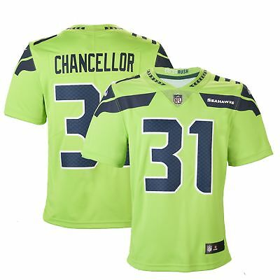 Adult Seattle Kam Chancellor Nike Action Green Color Rush Limited Jersey 48a721f9f