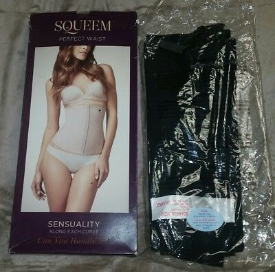 2bf354b51 Squeem Magical Lingerie Perfect Waist Control Cincher Shapewear Black 3X