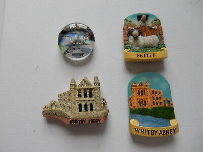 One Selected Souvenir Fridge Magnet from Yorkshire