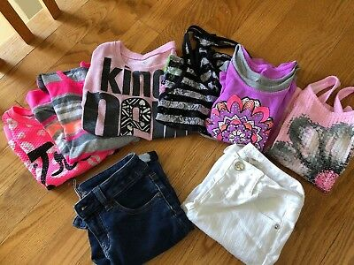 Lot justice size 10 Clothes