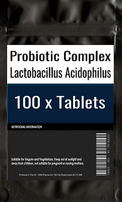 100 of Probiotic Max Acidophilus Bacteria w Prebiotic FOS