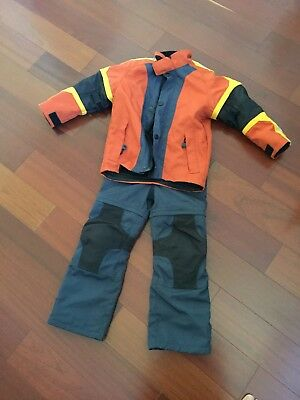 BMW Motorrad Stoke Textile Jacket and Matching Pants Sz Youth small