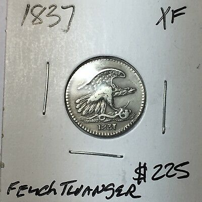 1837 Feuchtwanger's Composition Hard Times Token XF