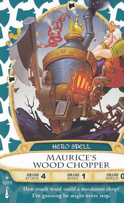 Sorcerer of the Magic Kingdom Maurier's Wood Chopper card 10
