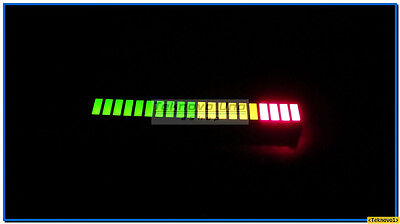 4 x Tri-Color-Fixed LED Light Bargraph Array 20-Segs for Audio LED VU Meter USA
