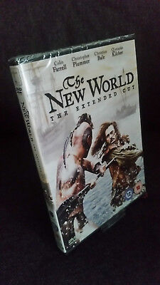 The New World Extended DVD - Terence Malick Christian Bale - New & Sealed