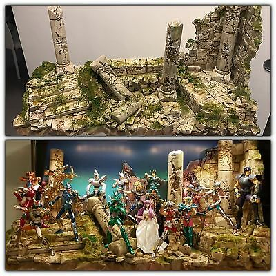 Diorama decoration scene myth cloth saint seiya ex rovine per v1 eur 160 00 picclick it - Decor saint seiya myth cloth ...
