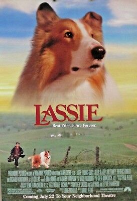 LASSIE 27 X 40 ORIGINAL 1994 MOVIE POSTER THOMAS GUIRY & HELEN SLATER Rolled (C)