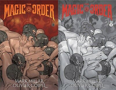 Magic Order #3 Cover A & B Set (Preorder Only Release Date 8-15-18)